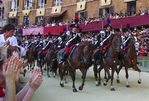 Palio Parade of Caribiniere crop