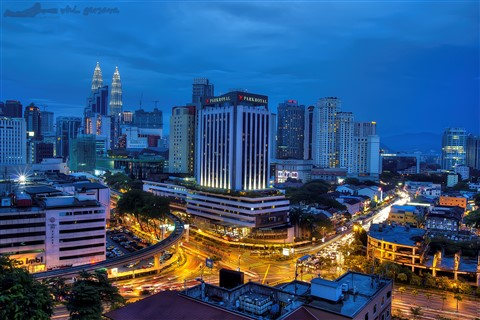 KL blue hour