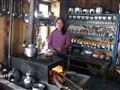 Himalayan guest house kitchen in Humde/Nepal