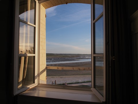 Hotel window, Baie de Somme