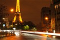 Light Trail In Paris