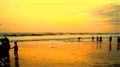 An evening at Goa beach