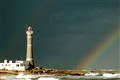Lighthouse's rainbow