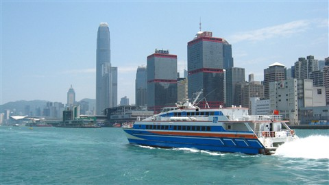 Fast ferry from China