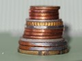 Stack of Cents - Macro