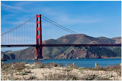 View on GG Bridge from Crissy Field