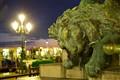 Green Venetian Lion