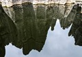 Reflection of Kunming rock forest - China