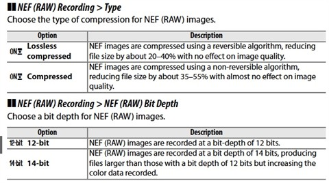 raw compression manual