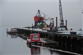 winter on Seattle working docks