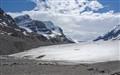 crowfoot glacier, alberta