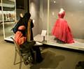 Muslim art students study western design.