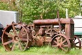 A very old standard tractor