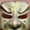 Samurai mask 3D