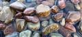 Pebbles in Lake McDonald Glacier Natl Park