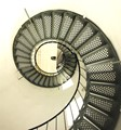 Spiral staircase panorama