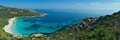 Wonderful wild shore in the south-west part of Corsica Island.