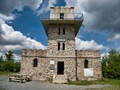 This lookout tower is on the border of Hungary and Austria. We were there from Hungary, when we weren't allow to leave the country.
