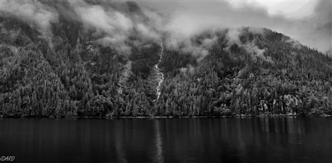 Misty Fjord Alaska bw10-7080304