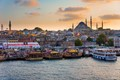 Sunset from Galata Bridge