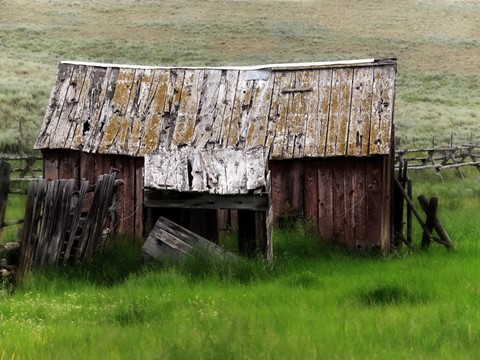 Old Small Barn, Montana_rp