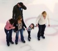 Ice Skating in Dallas Galleria
