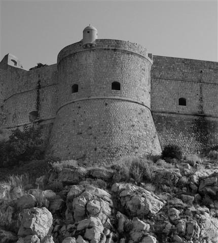 Medieval Dubrovnik Walls, Croatia