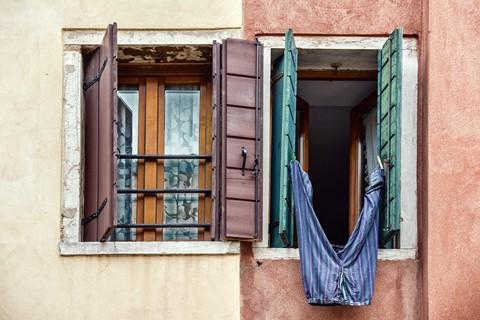 A window in Venice
