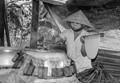 Working at a Rice-Paper Factory