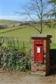 Postbox at Glenisla