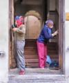 Women Workers Doors