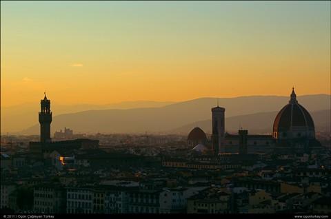Firenze dal Piazzale Michelangelo - II...