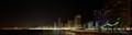 Benidorm shore at night