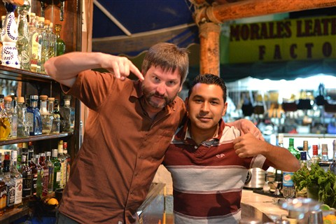 Me & a favourite bartender
