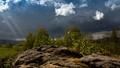 Coming storm in Stvolinske ravines, Czech Republic