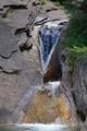 Waterfall, called Marmite dei Gigante, above Alpe Veglia in the North of Italy.