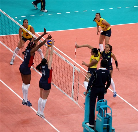 London 2012 women's volleyball final