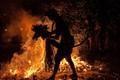 Kacak fire dance in Bali, Indonesia