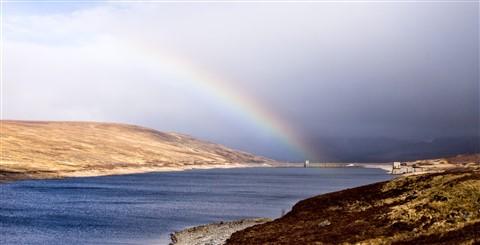 Altguish Dam Rainbow