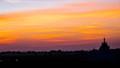 Beautiful Sunset at Myanmar