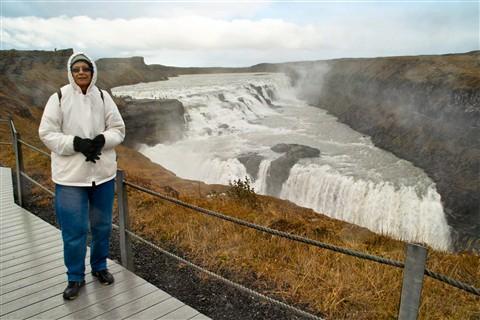 Iceland : GullFoss Waterfall