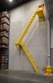 A Lapeyre Stair, an alternating tread stair for space saving and safety applications.