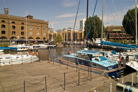 St Katharine's Docks, London