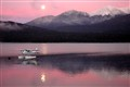 Sunrise, Moonset - Lake Manapouri, NZ