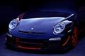 Purple Porsche GT3