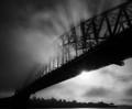 Fog over Sydney Hargour