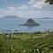Mokoli'i - Chinaman's Hat: View from Kualoa Ranch, Oahu HI.