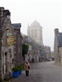 Foggy Day, Going Home. Locronan (F)