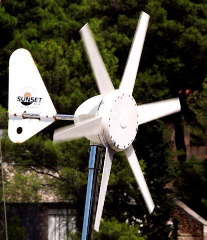 small marine wind turbines