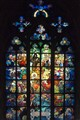 St. Vitus Cathedral window, Prague.